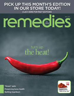August 2015 Remedies cover and magazine archive